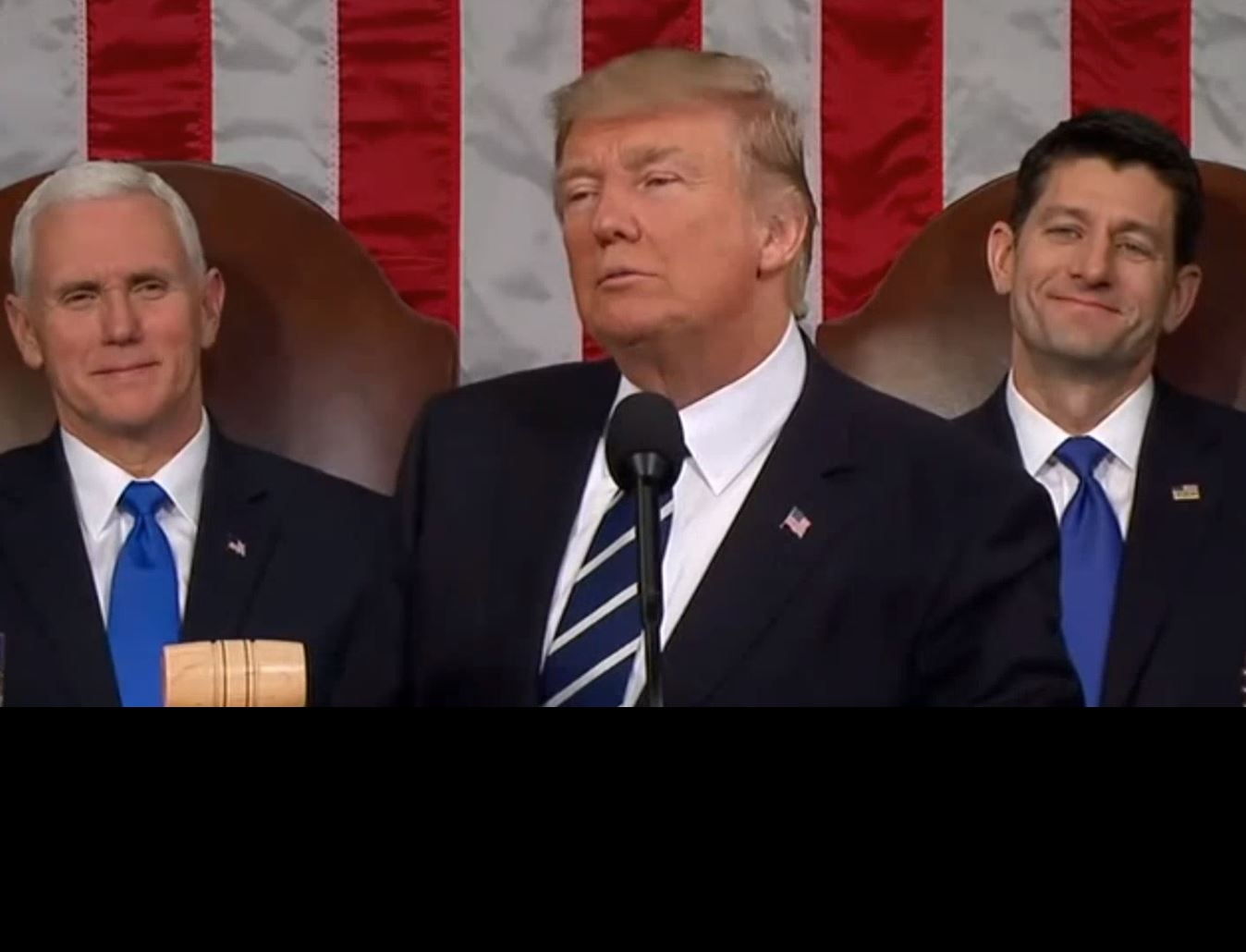 VIDEO: President Donald Trump's First Speech To Congress Highlight Reel