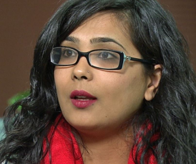 Iqra Khalid GRILLED By The Press Over M-103